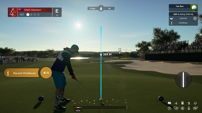 PGA 2K21 - A Solid Drive Down the Fairway