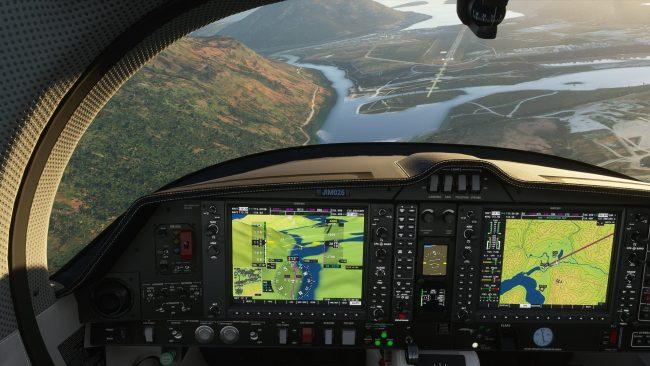 Pilot's Log - Flying around the World in Flight Simulator