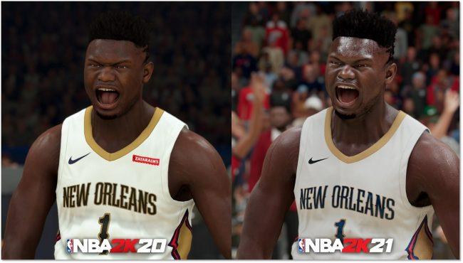 NBA 2K21 Shows Off Next Gen Style