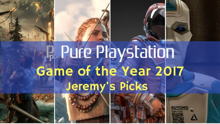 Feature: Game of the Year 2017 - Jeremy's Top 10 PS4/PSVR Games