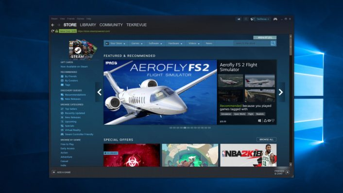 Here's One Potential Fix for a Slow Steam Browser in Windows