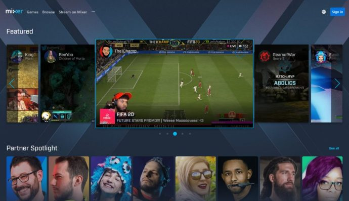 Mixer Home Page