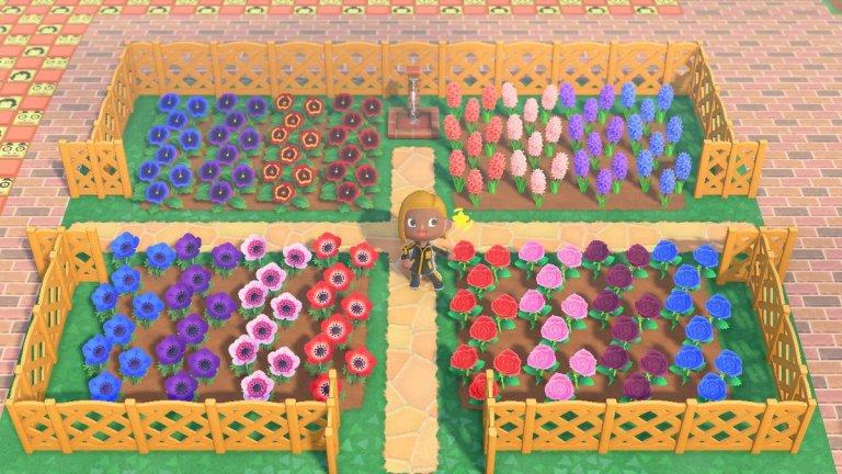 Animal Crossing Flower Breeding
