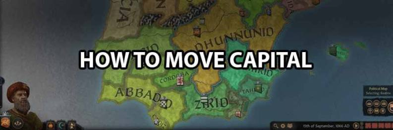 Crusader Kings 3: How To Move Capital