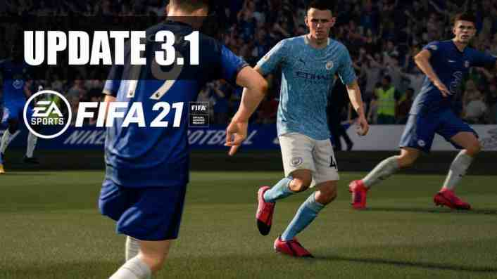 FIFA 21 Patch Notes Update 3.1