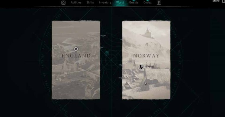 Assassin's Creed Valhalla: How to Return Back to the Norway Region