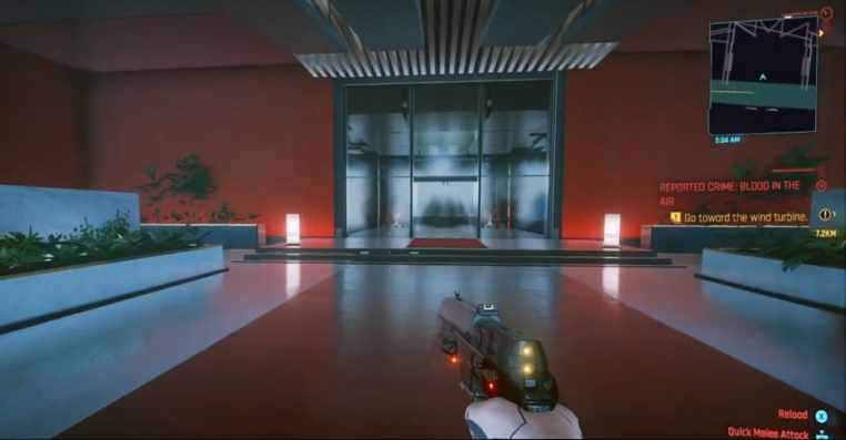 """Cyberpunk 2077: How to Get into Arasaka Tower After """"Heist"""" Mission"""