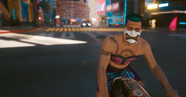 Cyberpunk 2077: How to Get White Oni Samurai Half Mask