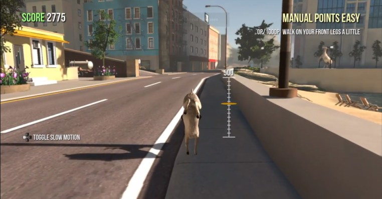 How To Walk On Your Front Legs In Goat Simulator