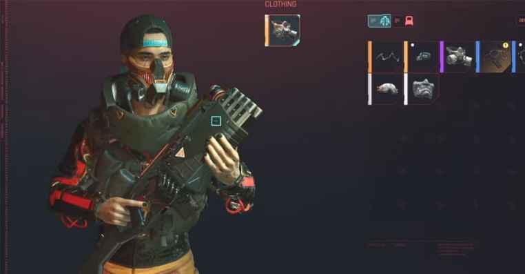 Cyberpunk 2077: How to Get Free Legendary Gas Mask