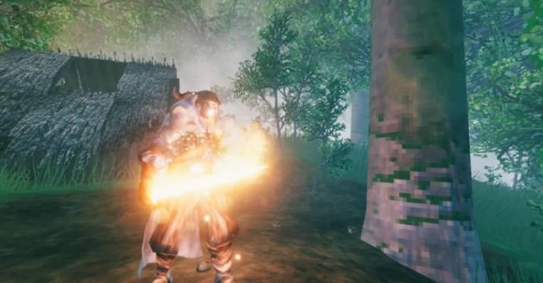 Valheim: Secret Fire Sword Craft & Stats