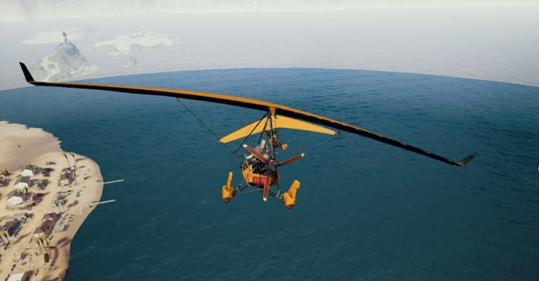 PUBG Mobile Motor Glider   Top 4 Motor Glider Locations