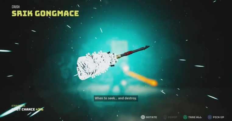 Biomutant: Srik Congmace Ultimate Weapon Location