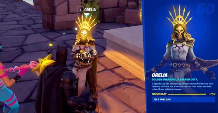 Fortnite: Legendary Scar Golden Weapon From Island Ruins
