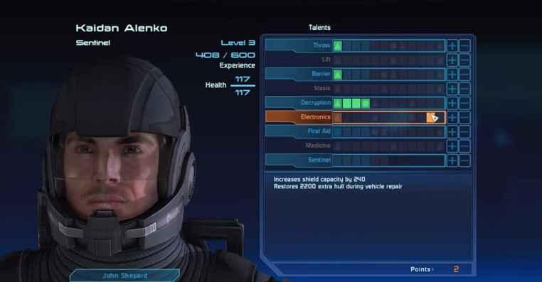 Mass Effect Legendary Edition: Auto Level Up