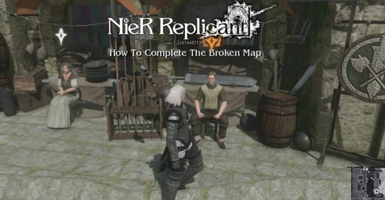 NieR Replicant: The Damaged Map Quest Guide