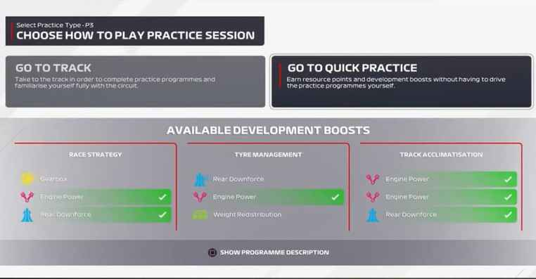 How To Do Quick Practice In F1 2021