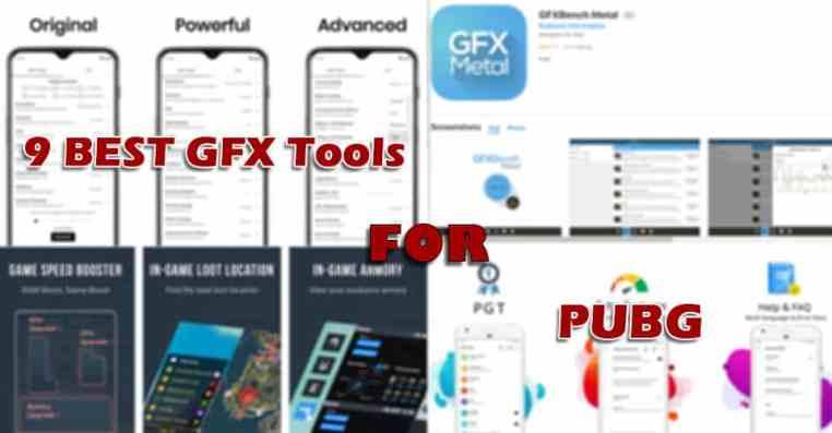 9 Best GFX Tools for PUBG
