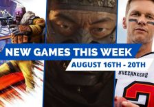 new games august 16th - august 20th