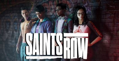 saints row reboot graphic and characters