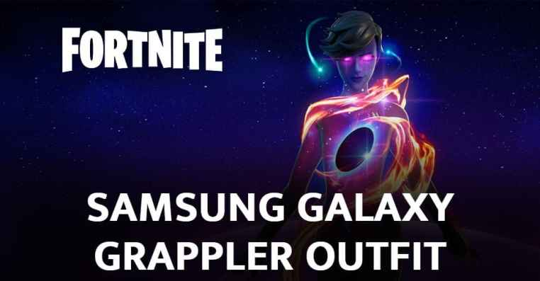 Fortnite Samsung Galaxy Grappler Outfit | How to Get