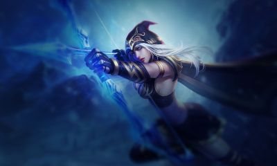 Ashe, league of legends, şampiyon