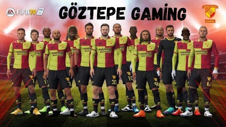 Göztepe Gaming FIFA Pro Club kadrosu.