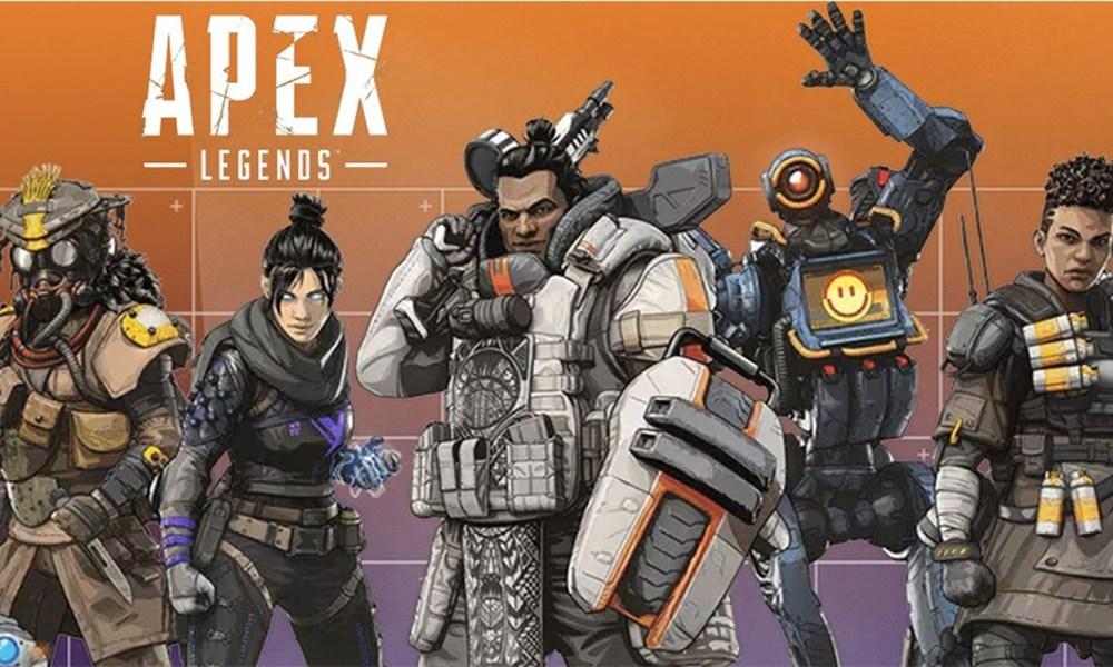 yılın en iyi online oyunu Apex Legends