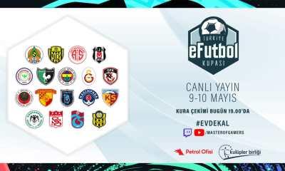 Türkiye E-Futbol Turnuvası kura çekimleri bu akşam yapılacak