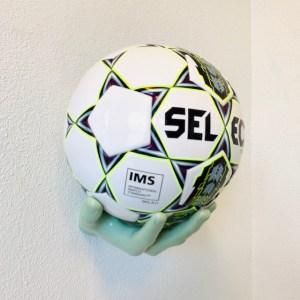 2 stk Boldhånd Fodboldholder i Grøn