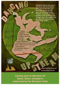 Dancing Upstream Text & Web-page-0
