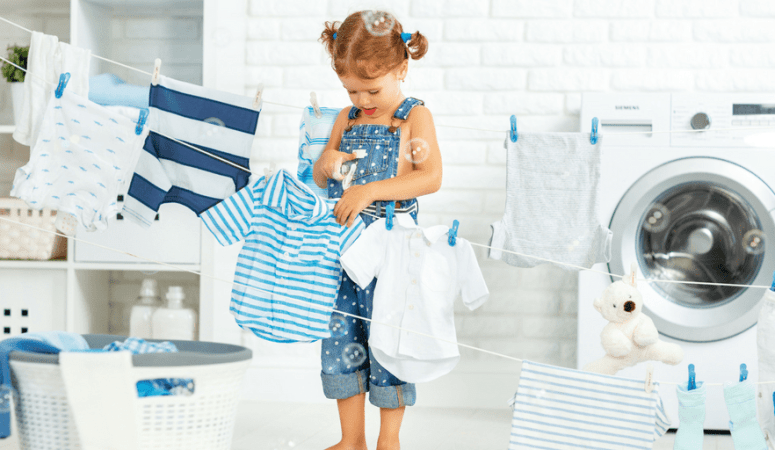 Chore ideas for young kids and how to put them into practice {+ printable chore list}