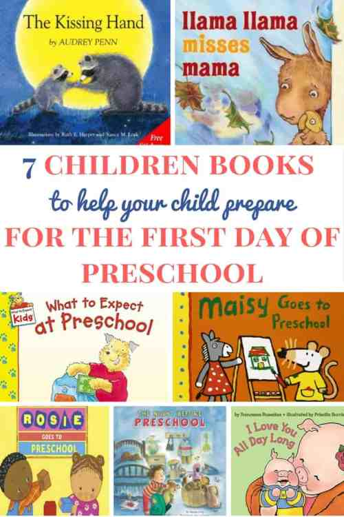 Children books about preschool | Children books for toddlers | Children books about the first day of preschool | How to prepare for preschool