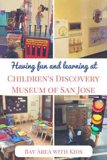 We started a guide of wonderful places to visit with kids in Bay Area. One of these places is Children's Discovery Museum of San Jose! | Bay Area with kids | California with kids | San Jose with kids