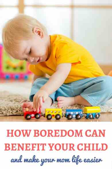 Ideas for bored kids: Have you ever thought that boredom is good for kids? And that it can also make your mom life easier? Here is how boredom can actually benefit your family! | Boredom in kids | Boredom busters