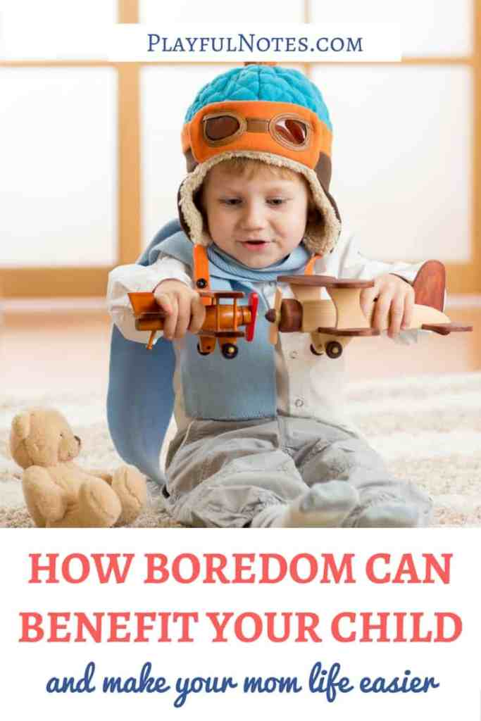 Ideas for bored kids:Have you ever thought that boredom is good for kids? And that it can also make your mom life easier? Here is how boredom can actually benefit your family! | Boredom in kids | Boredom busters