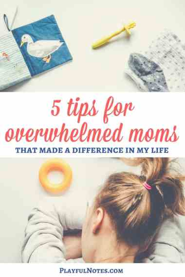 Do you feel tired and overwhelmed? Here are 5 tips for overwhelmed moms that can help you overcome the difficult moments on your life!   Tips for moms   Overcoming difficult moments for moms   Parenting tips