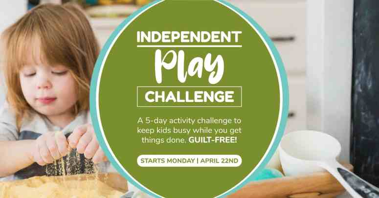 independent play challenge