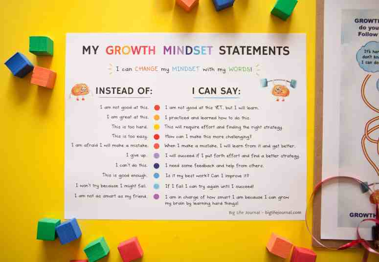 growth mindset for kids