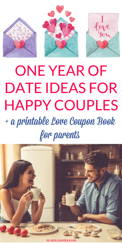 A love coupon book for parents is a wonderful way to plan quality couple time and make a commitment to focus on the relationship even in the busiest times. You can download here the date cards and create your own love coupon book!   Printable DIY love coupon book   Love coupon book for dads   Date ideas for parents #MarriageTips