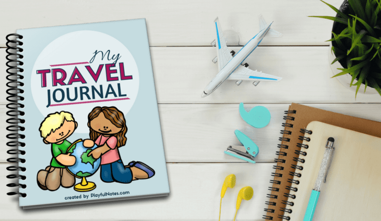Travel journal for kids: A wonderful way to record memories and make traveling more fun {printable}