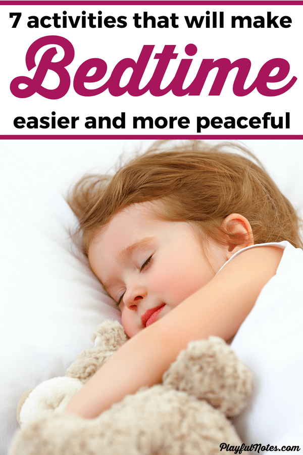 Discover a list of awesome bedtime activities for kids and start enjoying a more peaceful bedtime routine! The kids will love these ideas and you'll be able to manage bedtime easier! --- How to get kids to sleep | Bedtime tips for children | Bedtime routine | Bedtime ideas for kids | Raising kids | Parenting tips #GentleParenting #RaisingKids #ParentingTips