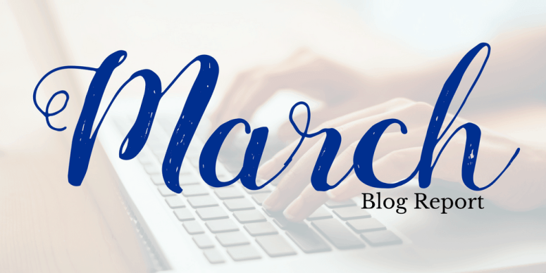 blog report march