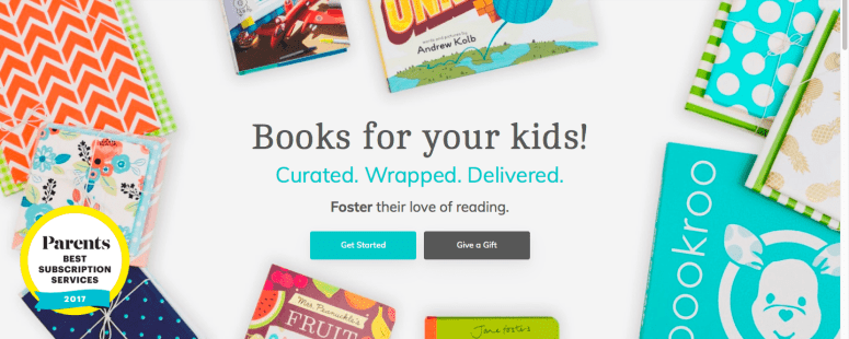 bookroo experience gifts for kids