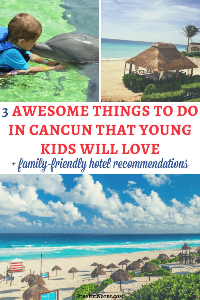 Cancun with kids: Tips and ideas for an awesome family vacation in Cancun plus some great family-friendly hotel recommendations | Mexico with kids | Travel tips for Cancun | Family travel