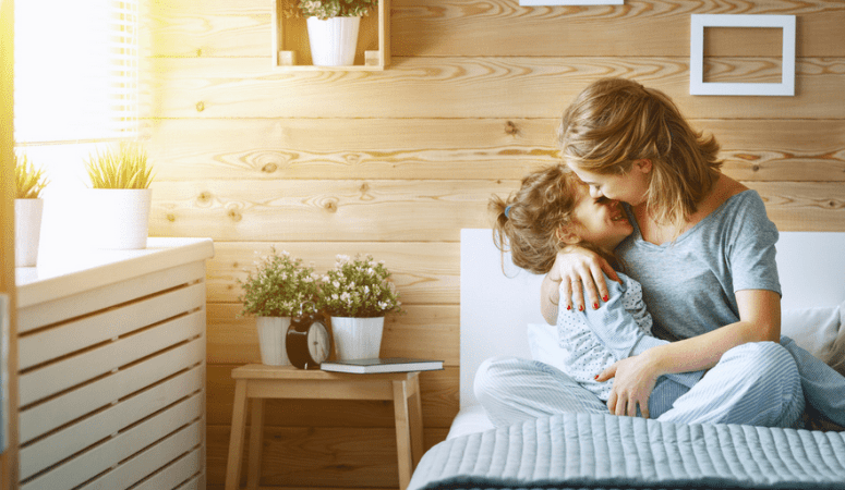The most powerful way to overcome difficult parenting moments {+ Positive Connection Challenge}