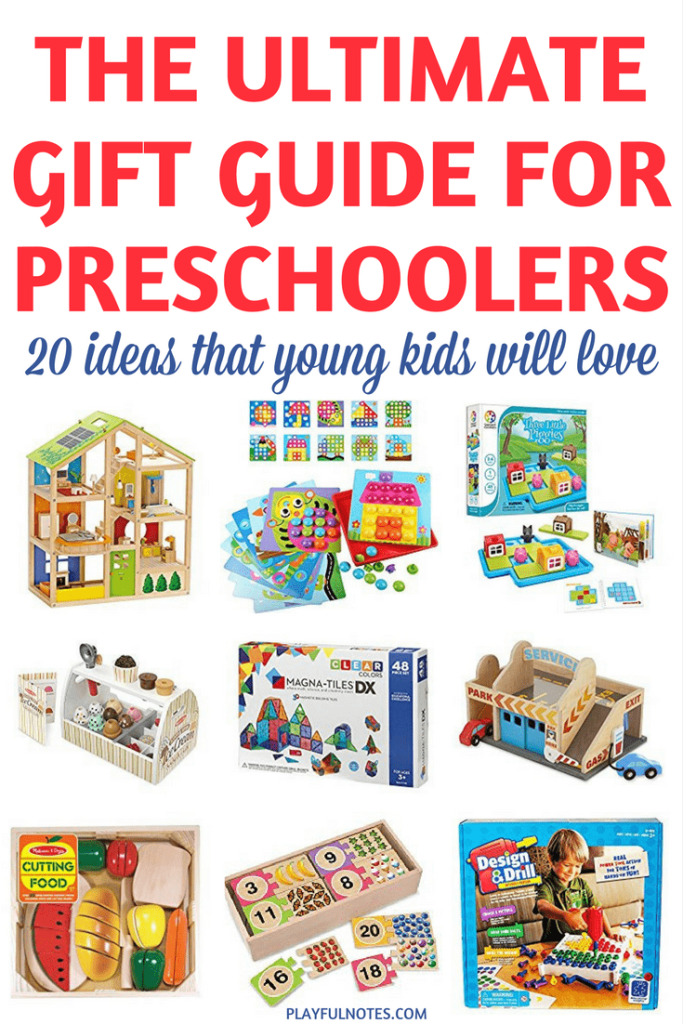 If you are looking for some awesome smart toys for preschoolers, here is a list of our favorite recommendations! I hope that you'll find a lot of inspiration on our list! | Toys for young kids | Gift guide for preschoolers | Christmas gifts