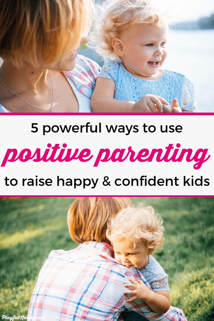 Discover 5 powerful positive parenting tools that will make parenting easier and discipline more effective. They made a huge difference in my life and they can help you build a strong relationship with your kids! --- Positive discipline | Positive parenting toddlers | Positive parenting tips and solutions | Gentle parenting | Peaceful parenting #ParentingTips