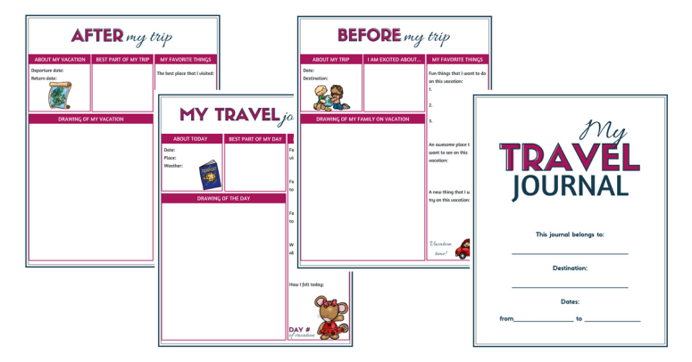 travel journal for kids a wonderful way to record memories and make