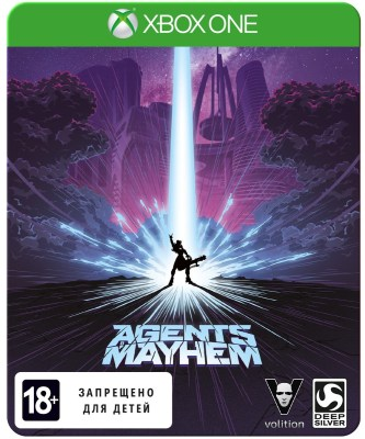 Agents of Mayhem – STEELBOOK ИЗДАНИЕ (Xbox One)